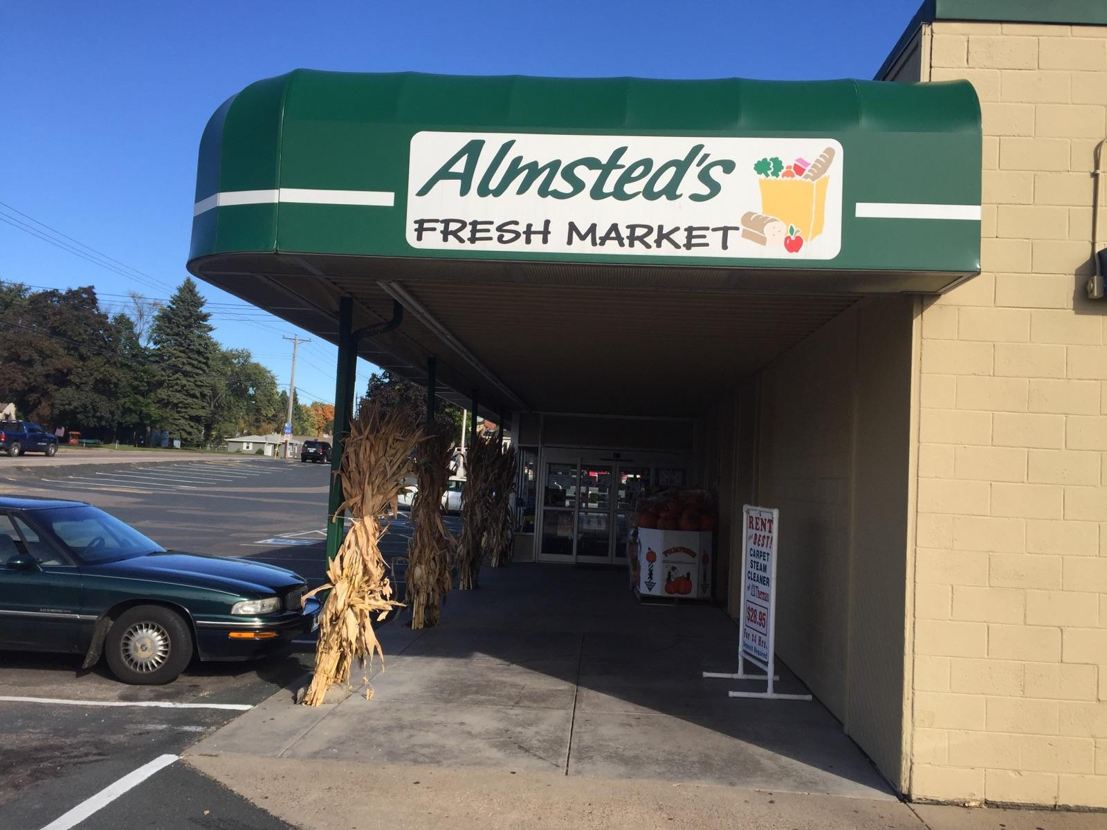 Almsted's Market now carrying Bridgeman's! Intro Photo