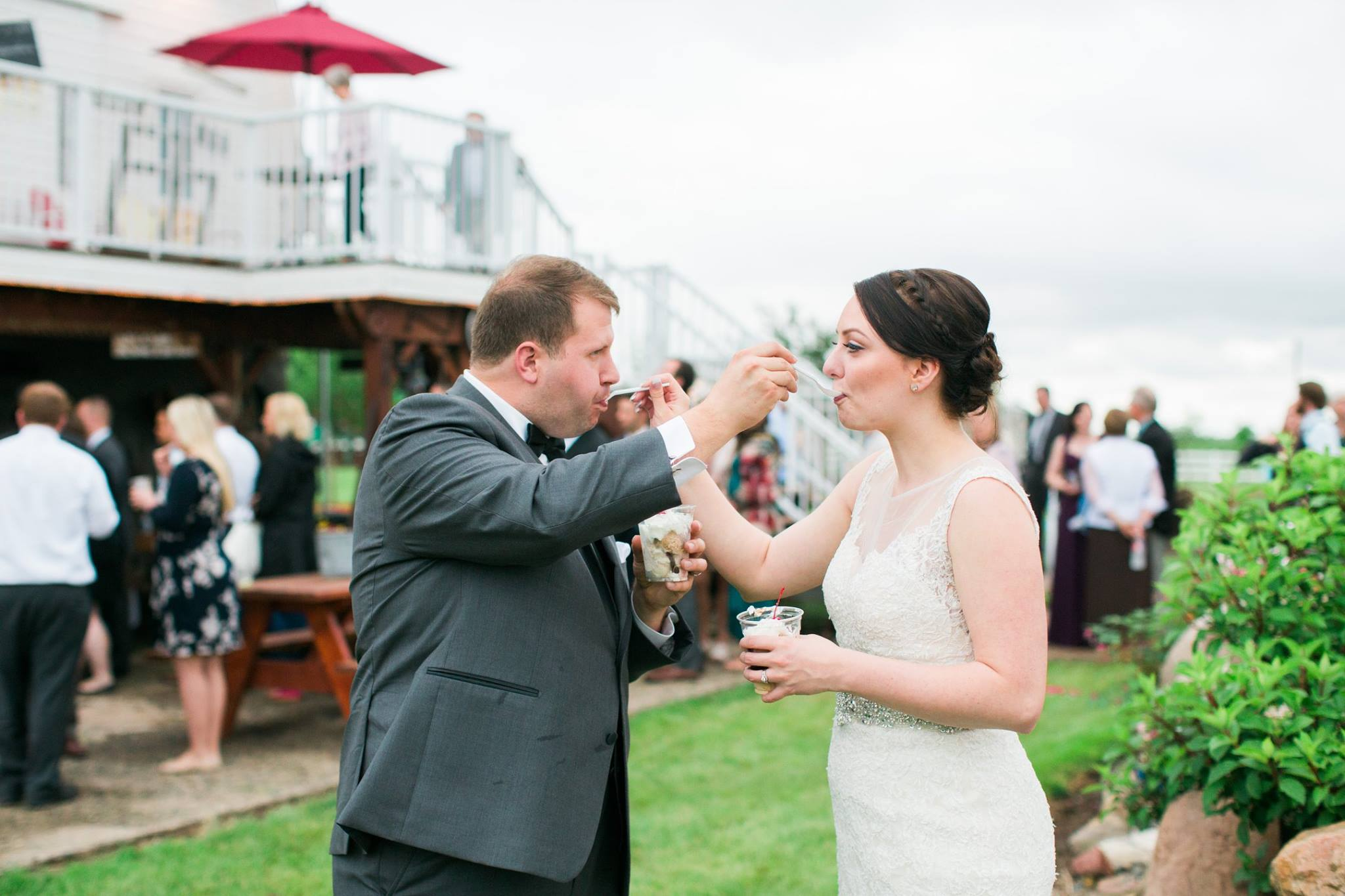 Bridgeman's Gourmet Ice Cream at your Wedding